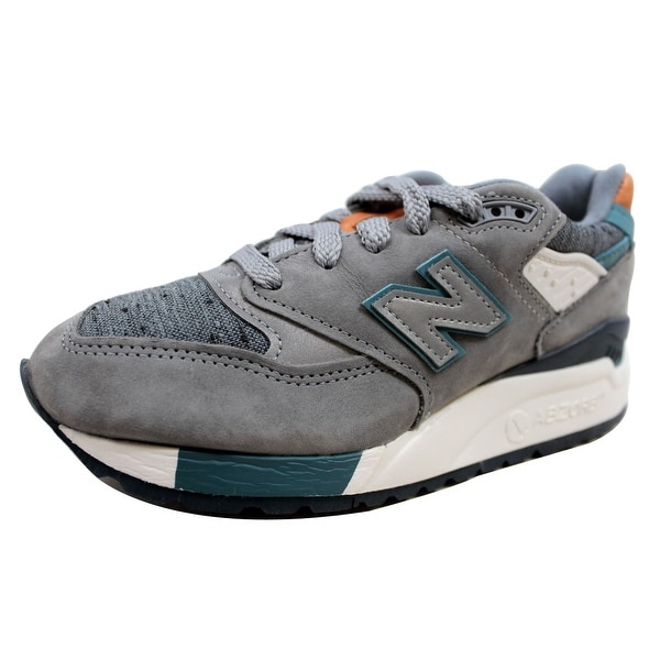 New Balance Women's 998 Grey/Blue-Tan Made In USA W998DTV