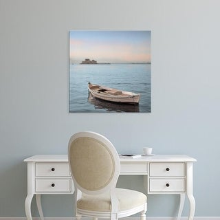 Easy Art Prints Alan Blaustein's 'Mediterranean Boat #1' Premium Canvas Art