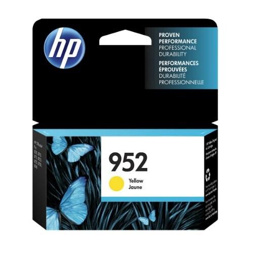 HP 952XL High Yield Cyan Original Ink Cartridge (L0S55AN)(Single Pack)