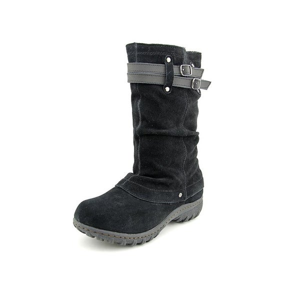 Khombu Mallory Womens Black Snow Boots