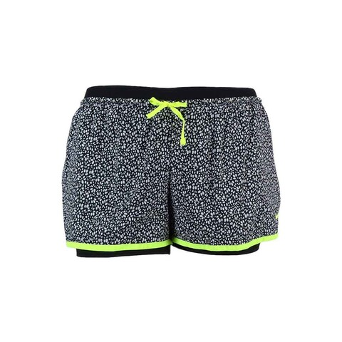 Nike Women's Full Flex Dri-Fit 2-in-1 Printed Training Shorts