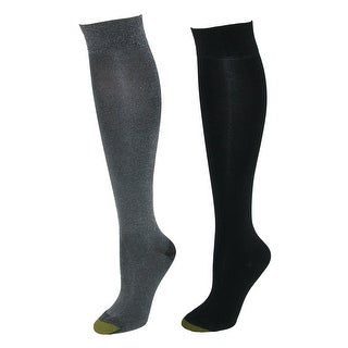 b2f21d153 Shop Gold Toe Women s Sparkle Knee High Dress Socks (2 Pair Pack) - Free  Shipping On Orders Over  45 - Overstock.com - 18441013