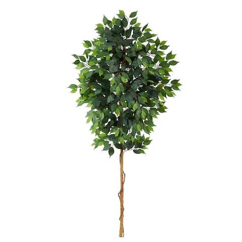"""6' Ficus Artificial Tree (No Pot) - 6"""""""