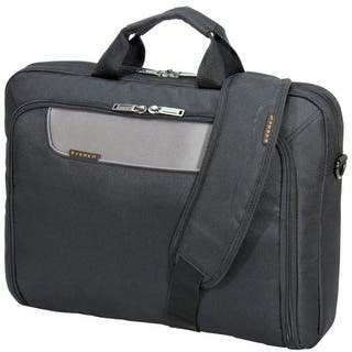 "Everki EKB407NCH17 Everki Carrying Case (Briefcase) for 17.3"" Notebook - Charcoal - Shock Resistant Interior - Polyester -