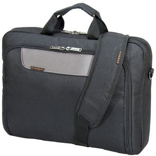"""""""Everki EKB407NCH17 Everki Carrying Case (Briefcase) for 17.3"""" Notebook - Charcoal - Shock Resistant Interior - Polyester -"""