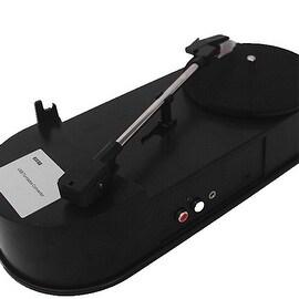 Vinyl Record to MP3 Audio USB Flash Turntable Converter Player Black