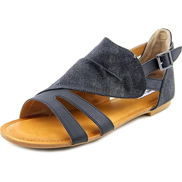 Not Rated Senio Women Open Toe Canvas Gladiator Sandal