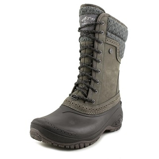 The North Face Shellista II Mid Women  Round Toe Leather  Snow Boot