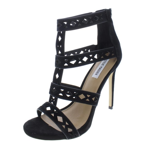 0920c8978c5b Steve Madden Womens Marie Dress Heels Geometric Cut Out - 10 Medium (B