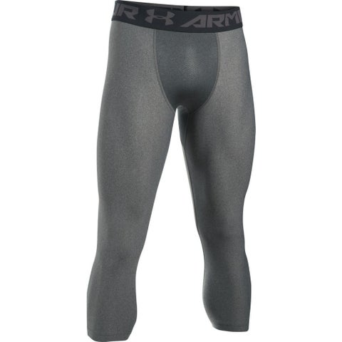 Under Armour Men's UA 3/4 Compression Leggings 1291328 Black Medium