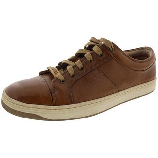 Dockers Mens Fashion Sneakers Leather Textured - 9.5 medium (d)
