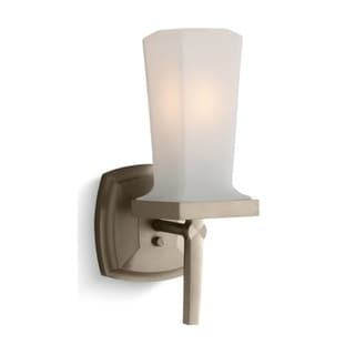 Kohler K-16268 Art Deco / Retro Single Up or Down Wall Sconce from Margaux Collection
