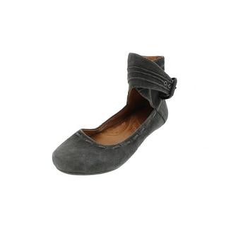 Naya Womens Fauna Round-Toe Shoes Suede Ankle Strap - 7.5 medium (b,m)