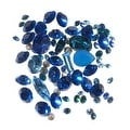 SWAROVSKI ELEMENTS Chaton Mix - Assorted Shapes And Sizes - Blues (4.5 Grams) - Thumbnail 0