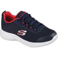 Skechers Boys' Dynamight Turbo Dash Sneaker Navy/Red