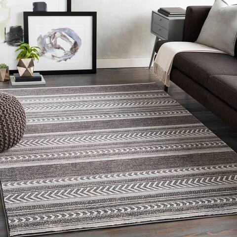 Nicki Global Striped Area Rug