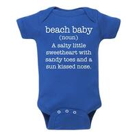 Beach Baby Definition - Infant One Piece