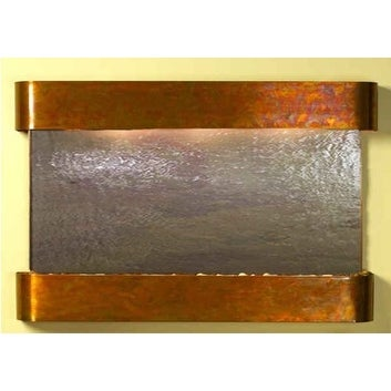 Adagio Sunrise Springs With Rajah Featherstone in Rustic Copper Finish and Round