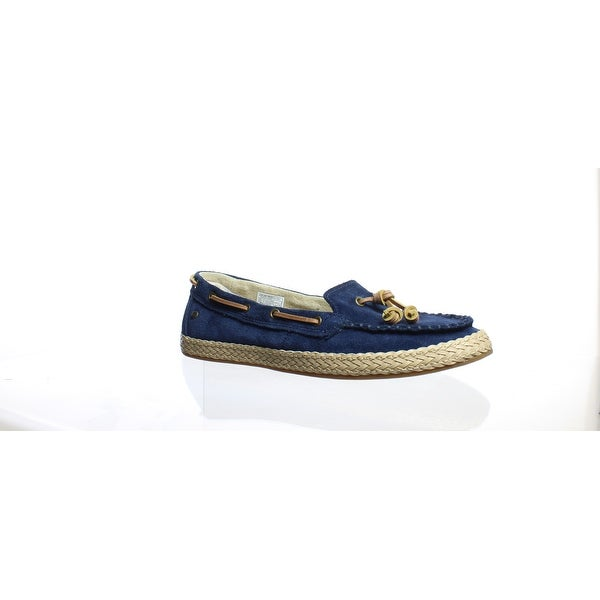 50186ebd329 Shop UGG Womens Channtal Navy Espadrilles Size 6.5 - Free Shipping ...