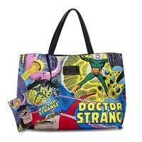Marvel Doctor Strange Vintage Comic Allover Pattern Tote Bag - One Size Fits most