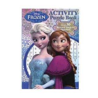 Frozen Activity Puzzle Book