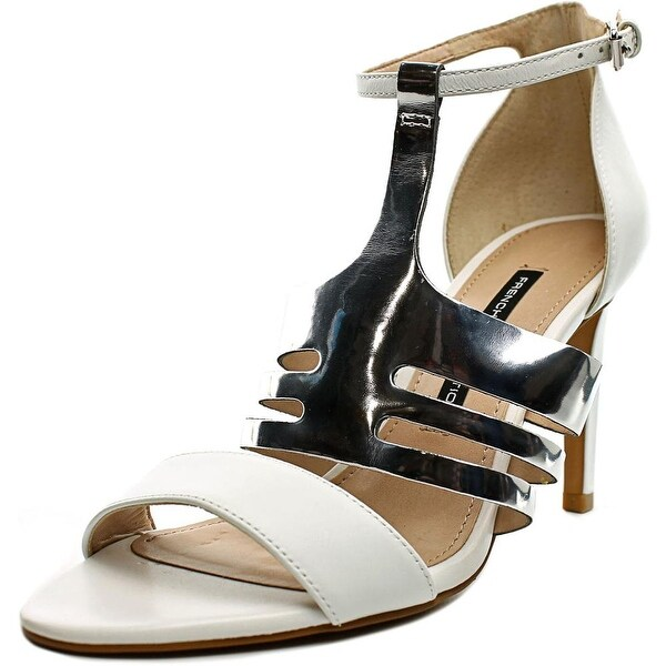 French Connection Lia Women Open Toe Leather Sandals