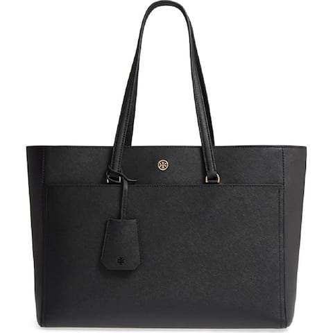 Tory Burch Womens Robinson Tote Black One Size
