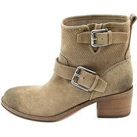 Donald J Pliner Womens Willow Closed Toe Mid-Calf Fashion Boots, Taupe, Size 5.0