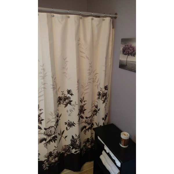 Lenox Moonlit Garden Shower Curtain   Free Shipping On Orders Over $45    Overstock.com   16802408