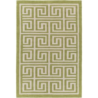 Hand-Tufted Essex Crosshatched Area Rug