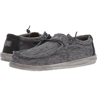 Hey Dude Mens Wally Woven, Carbon