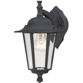 Westinghouse 67846 One-Light Wall Lantern, 100 Watt, Black