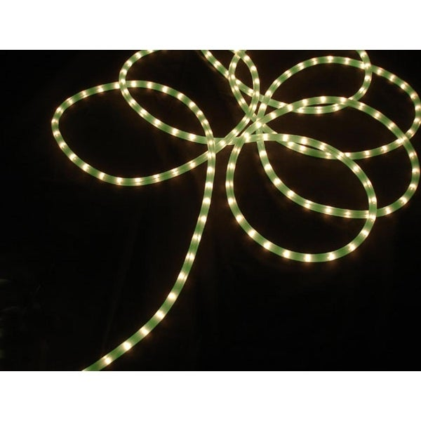 100' Lime Green Commercial Length Christmas Rope Light On a Spool