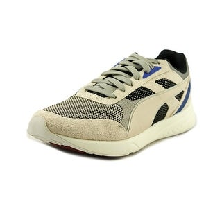 Puma 698 Ignite Select Round Toe Suede Sneakers