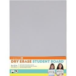 "Light Gray - Student Dry Erase Board 9""X12"""
