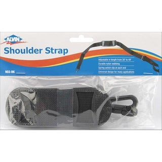 Stow & Go Storage Bin Shoulder Strap-Black - Black