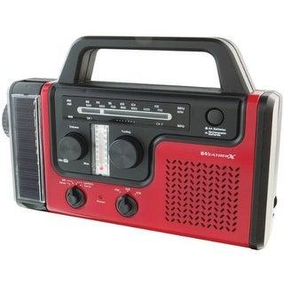 WeatherX GPXWR383RM AM/FM/Weather Radio with Flashlight