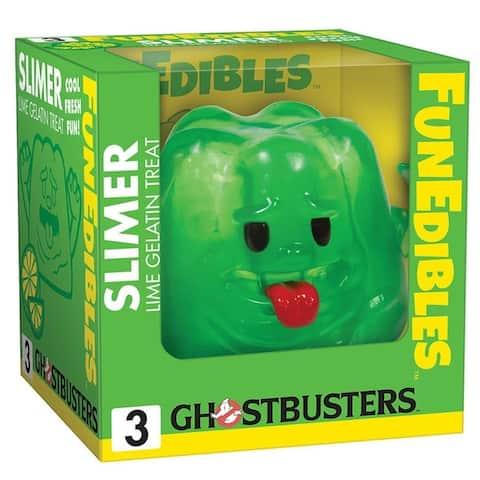 "Ghostbusters Slimer Lime Gelatin FunEdibles 4"" Vinyl Figure - Multi"