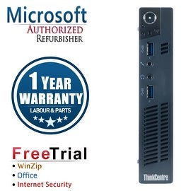 Refurbished Lenovo ThinkCentre M92P Tiny Intel Core I5 3470T 2.9G 4G DDR3 250G Win 10 Pro 1 Year Warranty