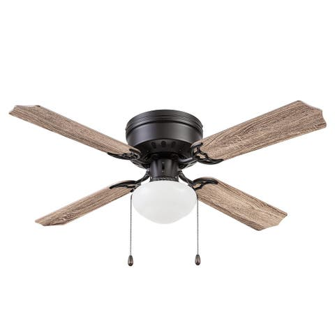 """42"""" Prominence Home Cherry Hill Indoor Ceiling Fan, Espresso Bronze - 42"""
