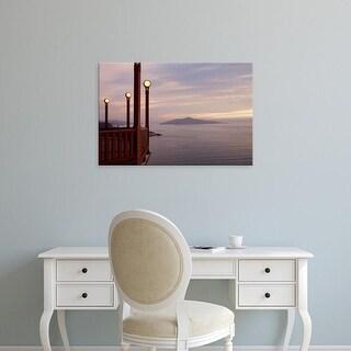 Easy Art Prints Alan Blaustein's 'Golden Gate Bridge #49' Premium Canvas Art