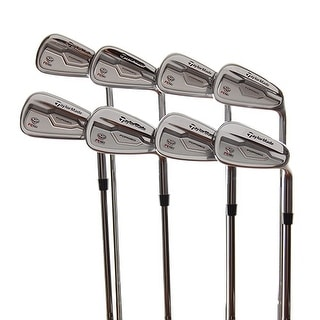 New TaylorMade RSi TP Forged Irons 3-PW RH w/ KBS Tour Stiff Steel Shafts