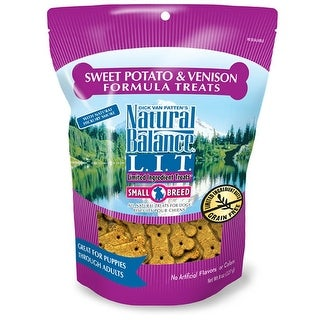 Natural Balance Small Breed Sweet Potato & Venison Treats 8oz