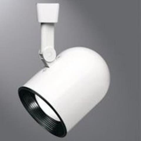 Regent LZR000301P Roundback Cylinder Track Light, White