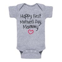 Happy First Mother's Day Creeper - Infant One Piece