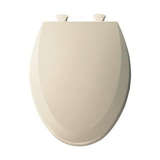 Bemis 1500EC Elongated Molded Wood Toilet Seat with Easy-Clean & Change ? Hinge