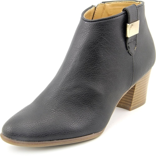 Alfani Leoh Women Round Toe Synthetic Bootie