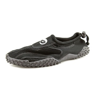 Easy USA G1185-C Women Round Toe Canvas Black Water Shoe