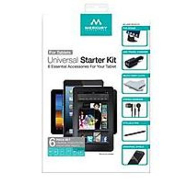 Merkury Innovations MI-UBTB6-88W Universal Starter Kit for 7 to 10 inches Tablets
