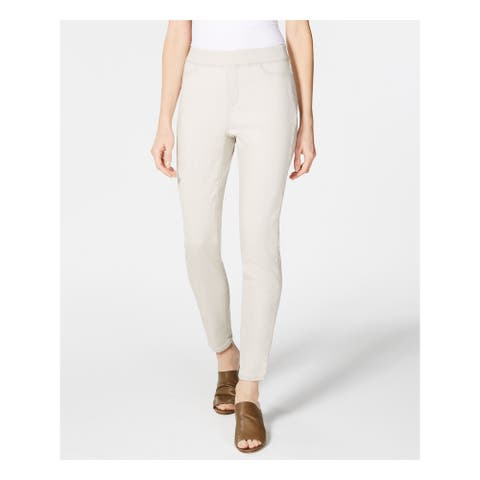 EILEEN FISHER Womens Gray Skinny Jeans Size S